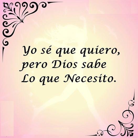 Dios Sabe Lo Que Necesito | Hola XD