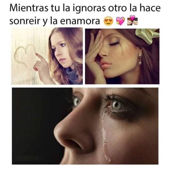 Mientras Tu La Ignoras Otro La Enamora Holaxd