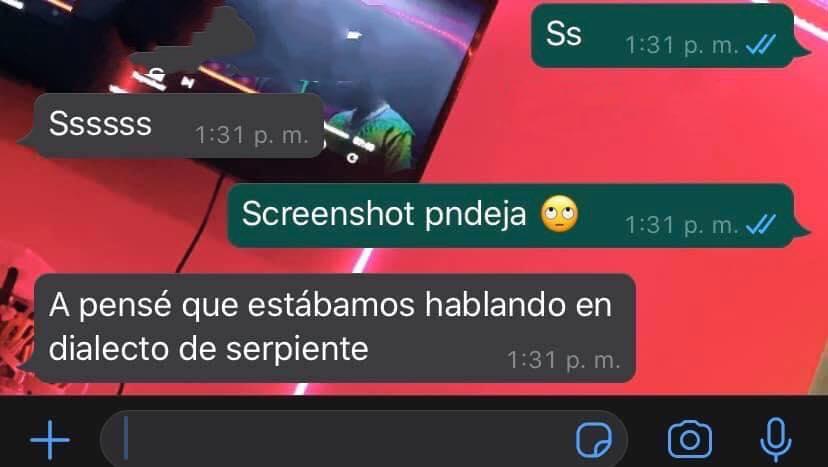 Ss -Sssss Screenshot -A pensé que estábamos hablando en dialecto de serpiente